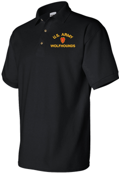 United States Army Custom Embroidered Polo Shirt
