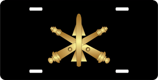 Army Air Defense Artillery License Plate