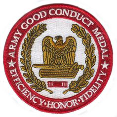 Army Good Conduct Medal 4