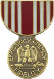 Army Good Conduct Medal Hat Pin