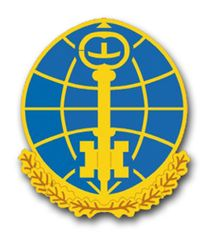 Army Intelligence and Security Command Unit Crest Vinyl Transfer Decal