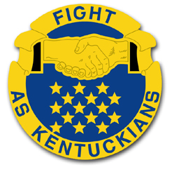 Army Kentucky State Area Command Unit Crest Vinyl Transfer Decal