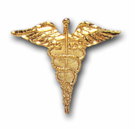 ARMY MEDICAL CORPS MILITARY LAPEL PIN