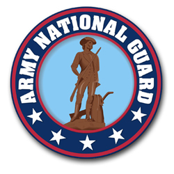Army National Guard Vinyl Transfer Decal