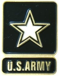 U.S. Army Star Lapel Pin