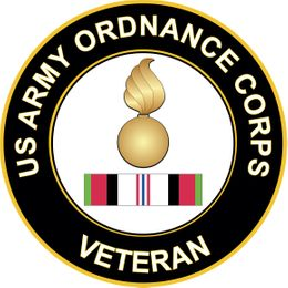 Army Ordnance Corps Afghanistan Decal