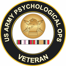 Army Psychological Operations Afghanistan and Iraq Decal