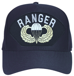 Army Ranger with Parachute Wings Ball Cap