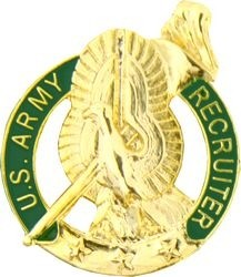 ARMY RECRUITER LAPEL PIN