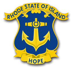 Army Rhode Island State Area Command Unit Crest Vinyl Transfer Decal