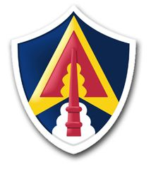 Army Space Command Patch Vinyl Transfer Decal