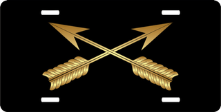Army Special Forces License Plate