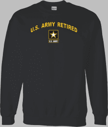 Army Star Logo U.S. Army Retired Shirt