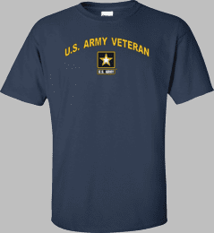 Army Star Logo U.S. Army Veteran Shirt