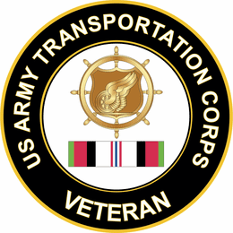 Army Transportation Corps Afghanistan Decal