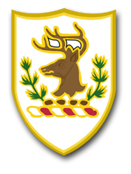 Army Vermont State Area Command Unit Crest Vinyl Transfer Decal