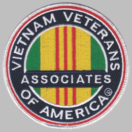 Associates Vietnam Veterans of America 4 inch patch