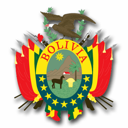 Bolivia Coats Of Arms Decal