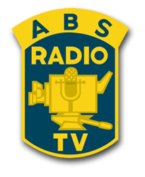 Broadcasting Service Unit Crest Vinyl Transfer Decal