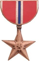 Bronze Star Hat Pin