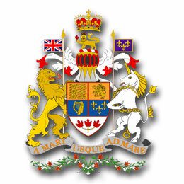 Canada Coats Of Arms Decal