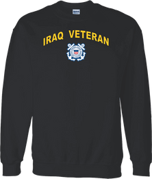 Coast Guard Logo Iraq Veteran Shirt