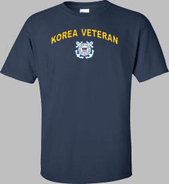 Coast Guard Logo Korea Veteran Shirt