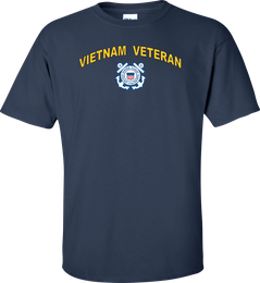 Coast Guard Logo Vietnam Veteran Shirt