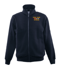 Cold War Veteran Game Sportswear Firefighter's Full Zip Turtleneck