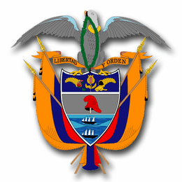 Colombia Coats Of Arms Decal