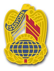 Corps of Engineers Command Unit Crest - right Vinyl Transfer Decal