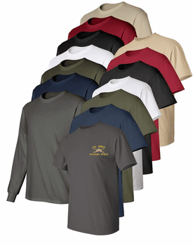 Custom Embroidered Army MOS T-Shirts