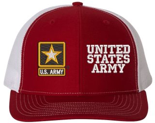 Custom Army Split Cap