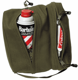 Custom Embroidered Dual Compartment Travel Kit