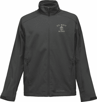 Custom Embroidered U.S. Navy Marmot Approach Jacket