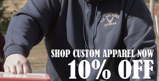 Custom Military Caps, Patches, Golf Shirts, Sweatshirts, Golf Towels