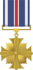 Distinguished Flying Cross Medal Decal