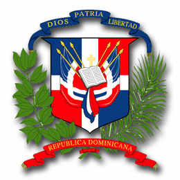 Dominican Republic Coats Of Arms Decal
