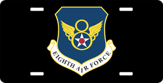 Eighth Air Force License Plate