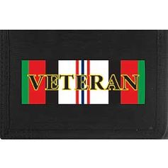 Enduring Freedom Direct Embroidered Trifold Wallet