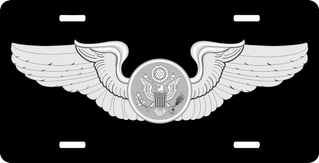 Enlisted Aircrew Member License Plate