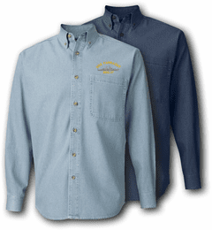 Farragut Class Long Sleeve Denim Shirt
