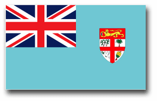 Fiji Flag Vinyl Transfer Decal
