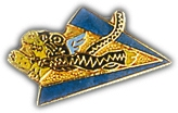Flying Tiger Lapel Pin