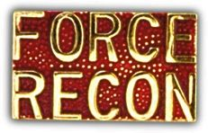 Force Recon Lapel Pin