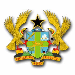Ghana Coats Of Arms Decal