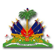 Haiti Coats Of Arms Decal