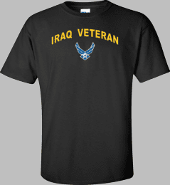 Hap Wings Iraq Veteran Shirt