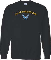 Hap Wings U.S. Air Force Veteran Shirt