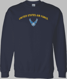 Hap Wings United States Air Force Shirt